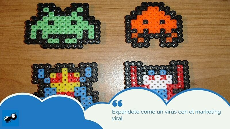 concepto de marketing viral