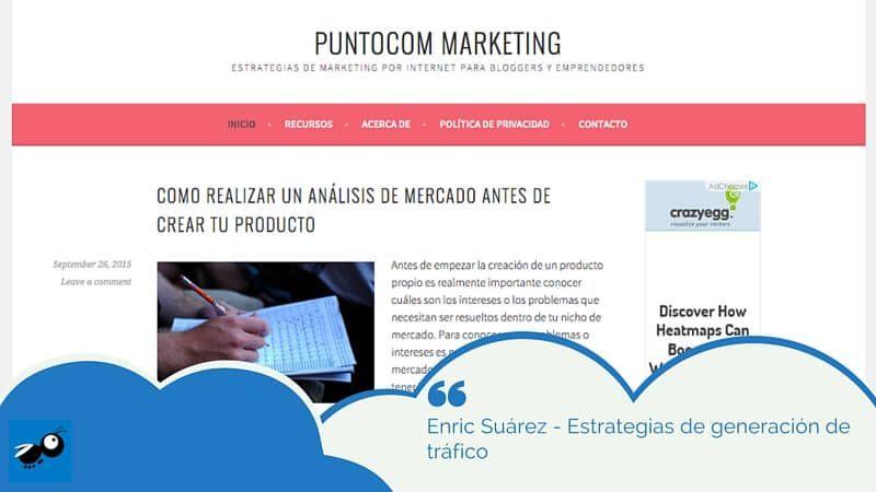 Enric Suárez - Estrategias de generación de tráfico