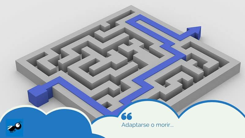 Adaptarse o morir...