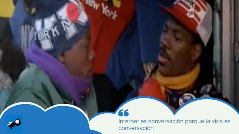 internet es conversación