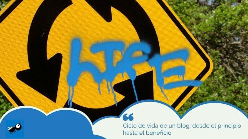 ciclo de vida de un blog