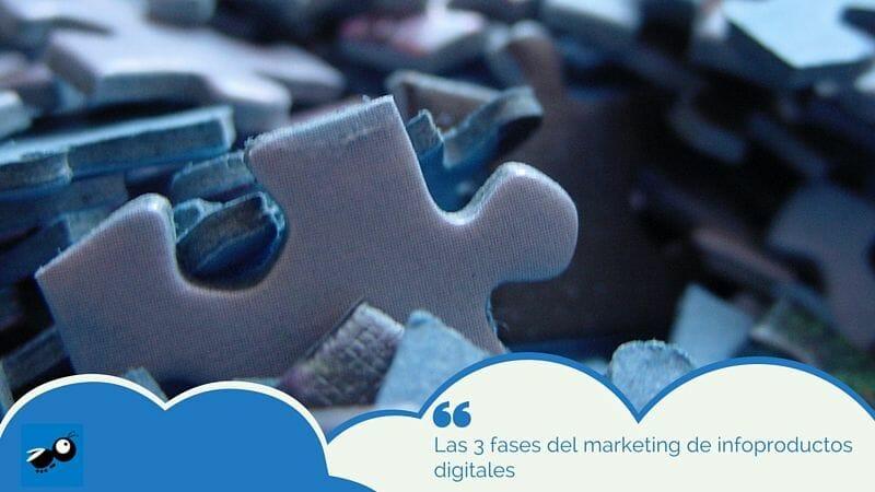 Las 3 fases del marketing de infoproductos digitales