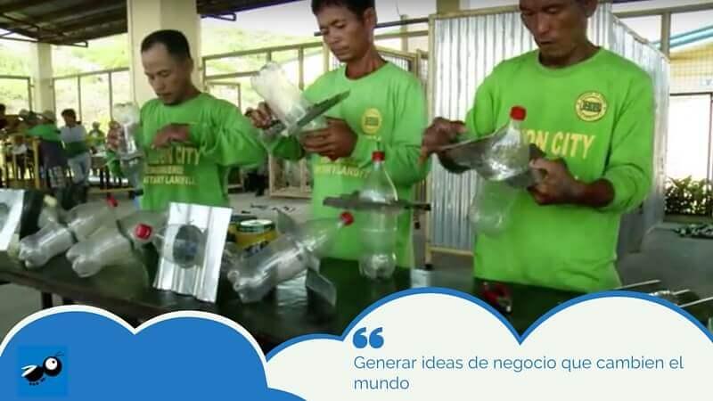 Generar ideas de negocio que cambien el mundo