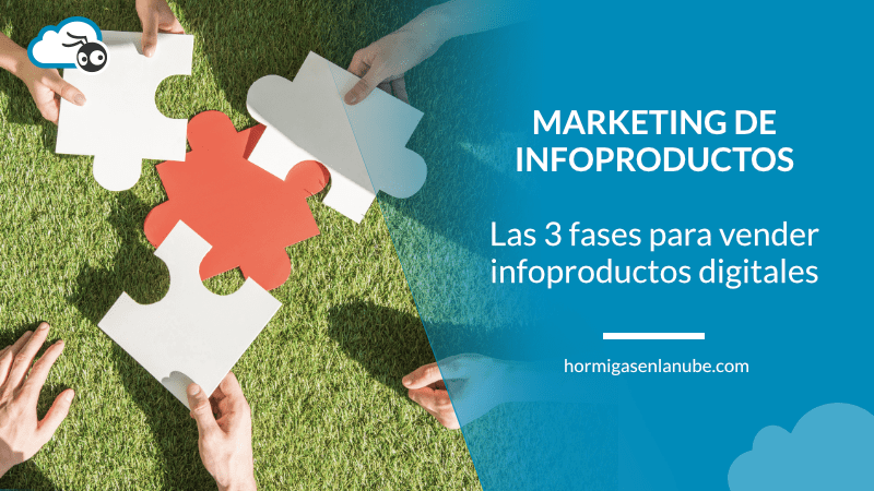las tres fases del marketing de infoproductos digitales