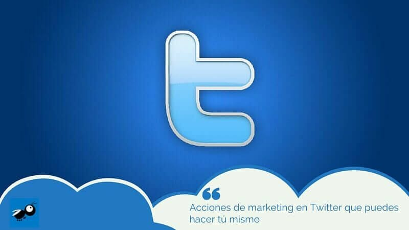 acciones de marketing en Twitter