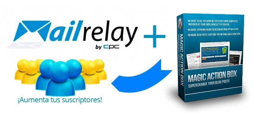MailRelay con Magic Action Box