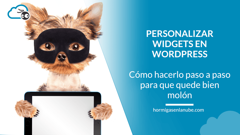 personalizar widget en wordpress