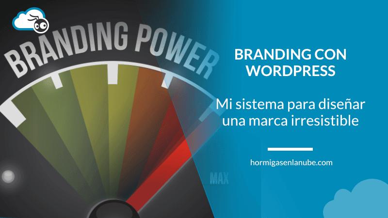 branding con wordpress