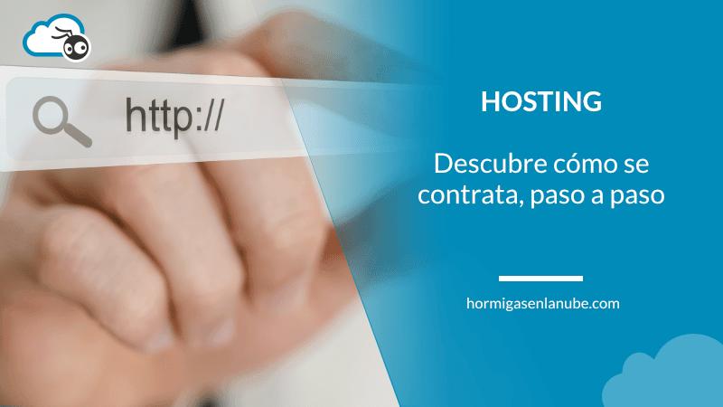 cómo se contrata un hosting
