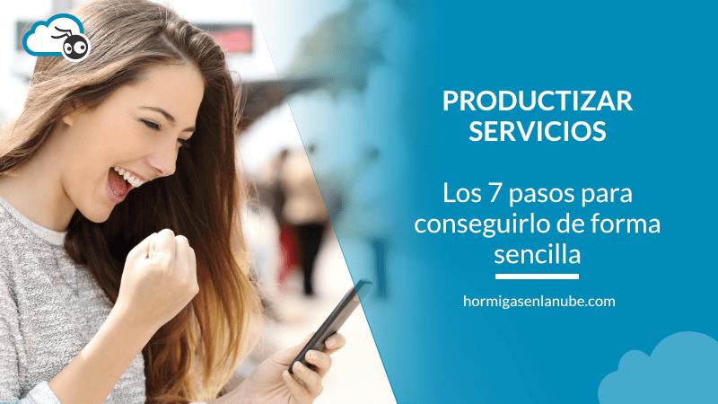 Productizar servicios