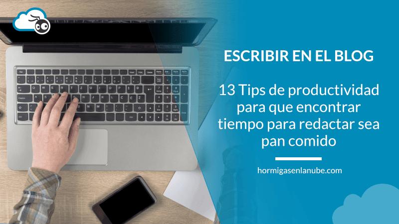 productividad personal para bloggers