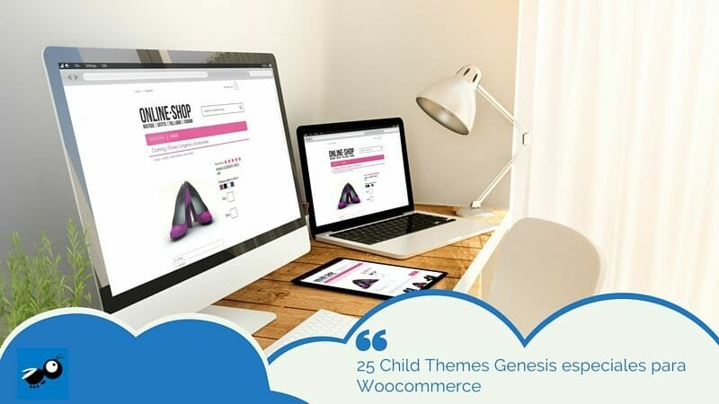 25 Child Themes Genesis para Woocommerce