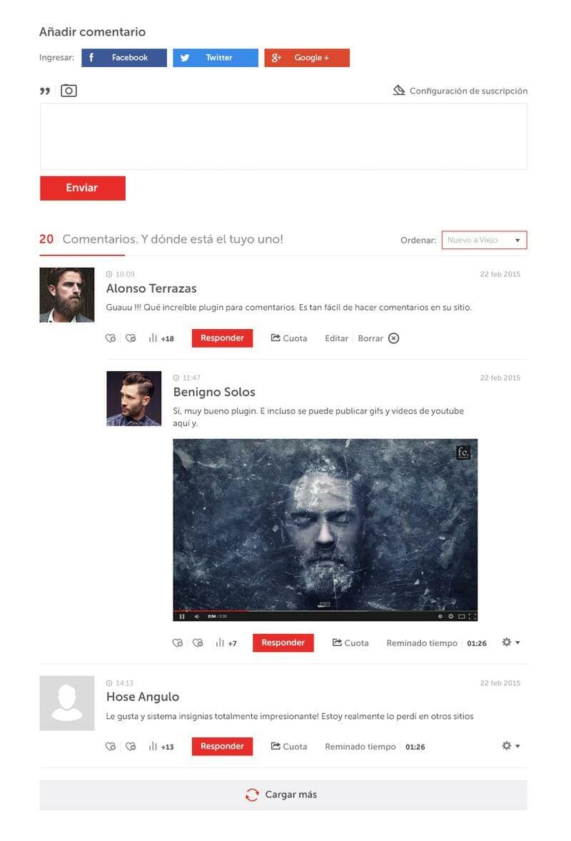 de:comments, el plugin de comentarios que más me gusto