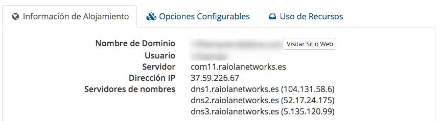 Información de tu IP en Raiola