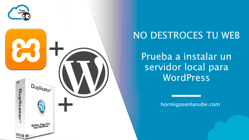 instalar un servidor local para WordPress