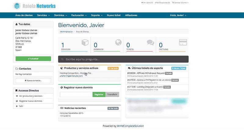 Apariencia de area de cliente-Raiola-Networks