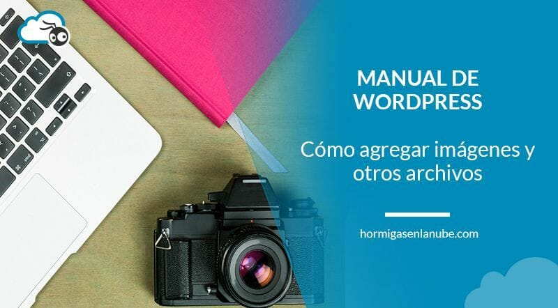 Cómo agregar imágenes y otros archivos en WordPress