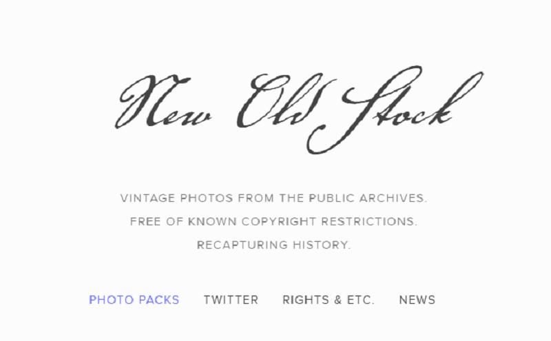 Banco de imágenes gratis New Old Stock