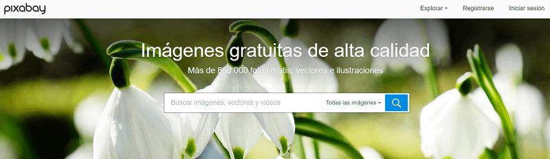 Banco de imágenes gratis Pixabay