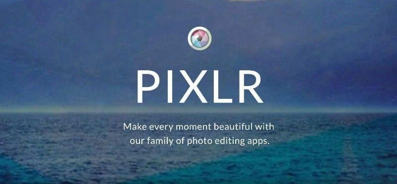 herramienta para reducir dimensiones de imágenes Pixlr