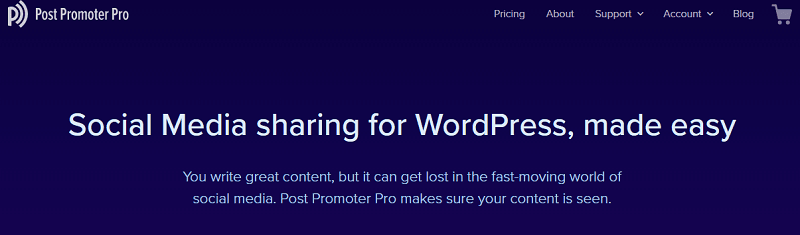 plugins para wordpress: Post Promoter Pro