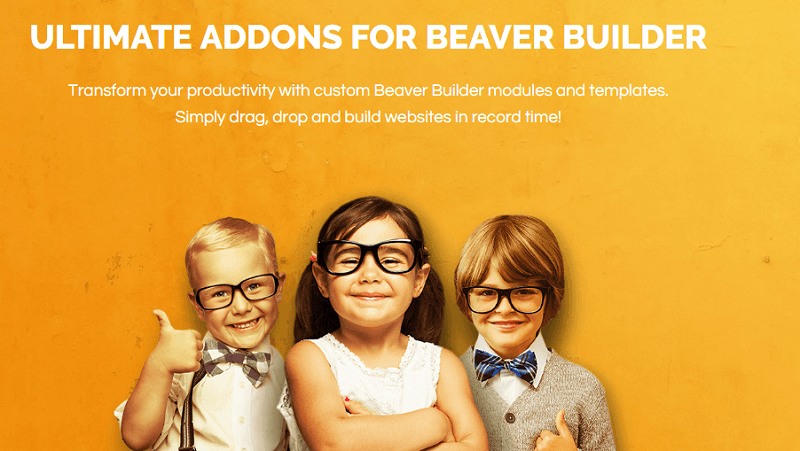 Plugins para wordpress: ultime addons for beaver builder