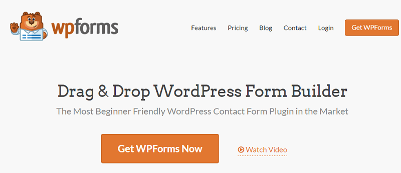 Plugins para WordPress: WPForms