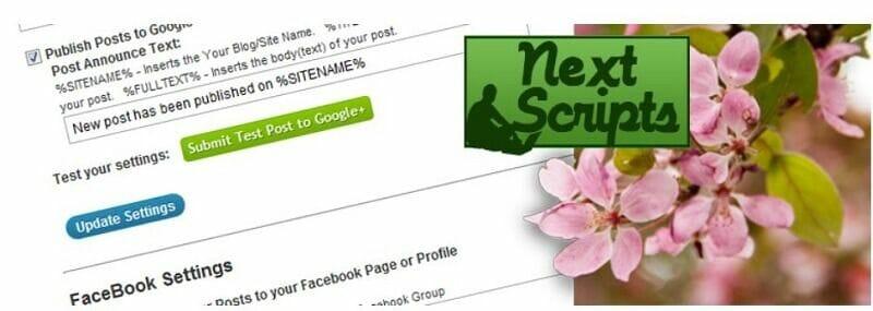 herramientas para automatizar redes sociales nextscript