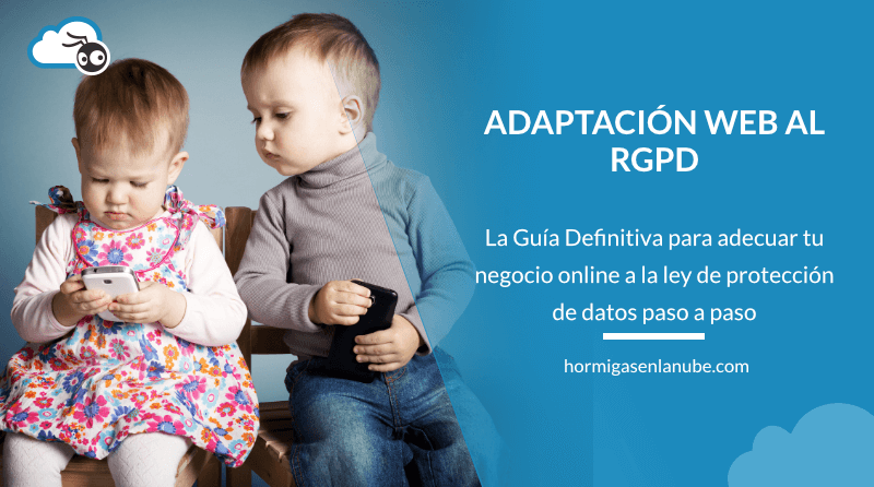 Adaptar la web al RGPD