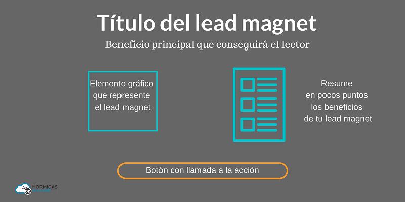 promocionar tu lead magnet con squeeze page