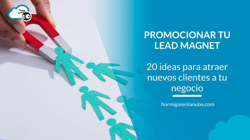 promocionar tu lead magnet