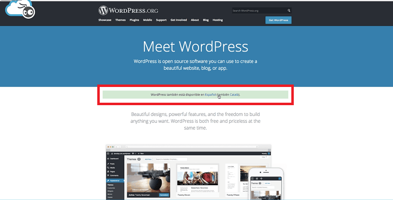 Instalar wordpress y acceder a wordpress