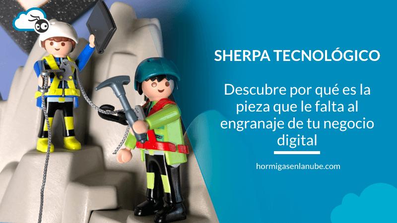 qué es un sherpa tecnológico
