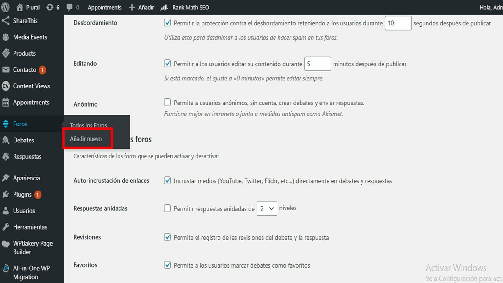 bbPress plugin de foro para WordPress