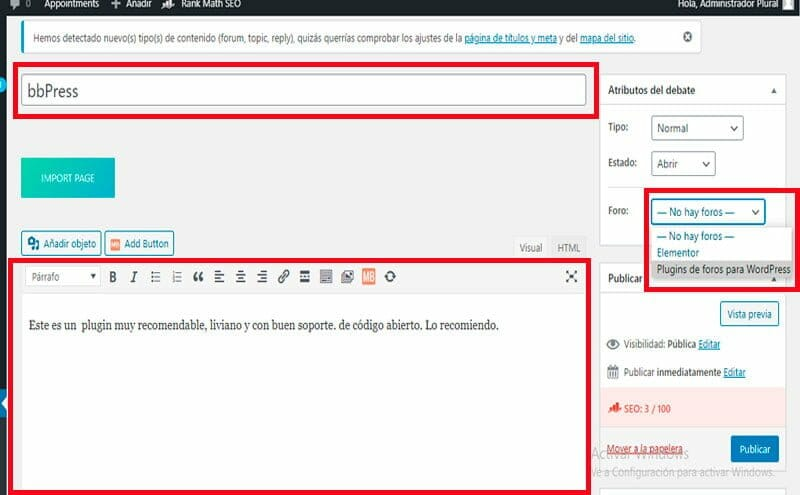 bbpress el plugin de foros para wordpress