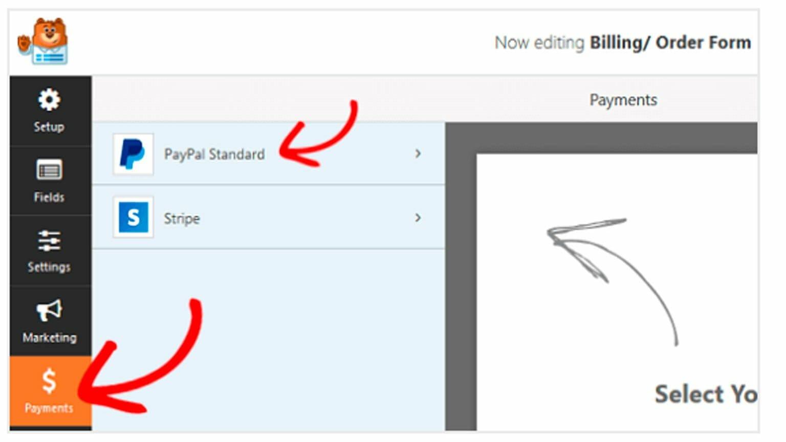 Formulario de pago sencillo para WordPress