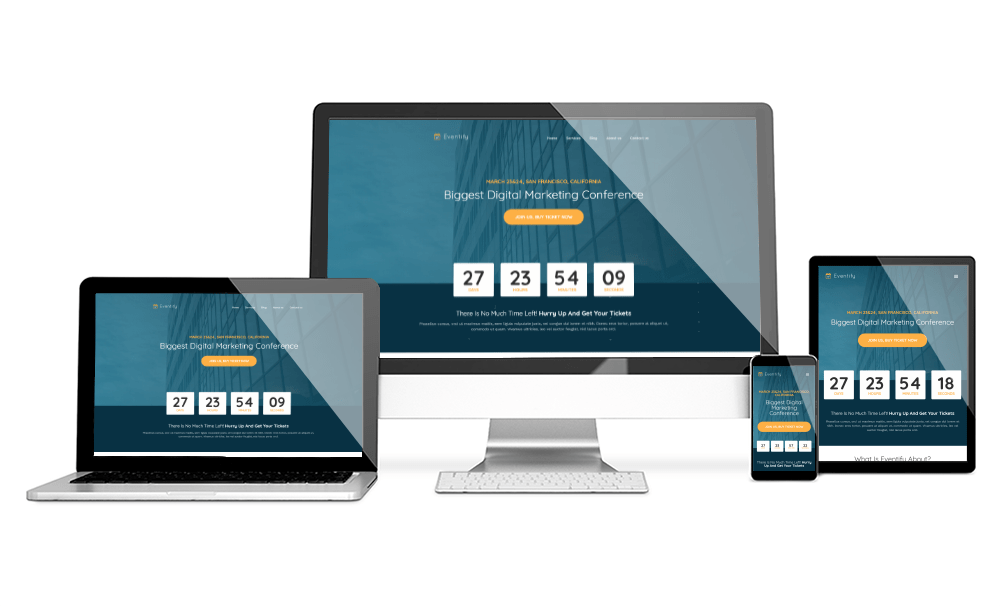 Eventify homepage