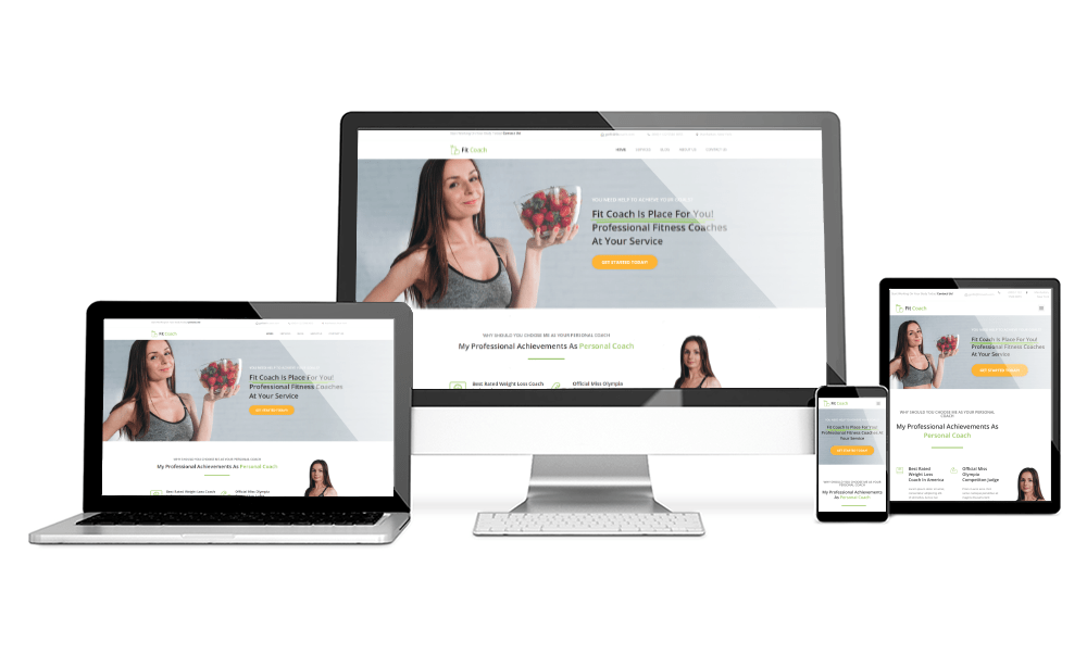 FIT COACH HOMEPAGE