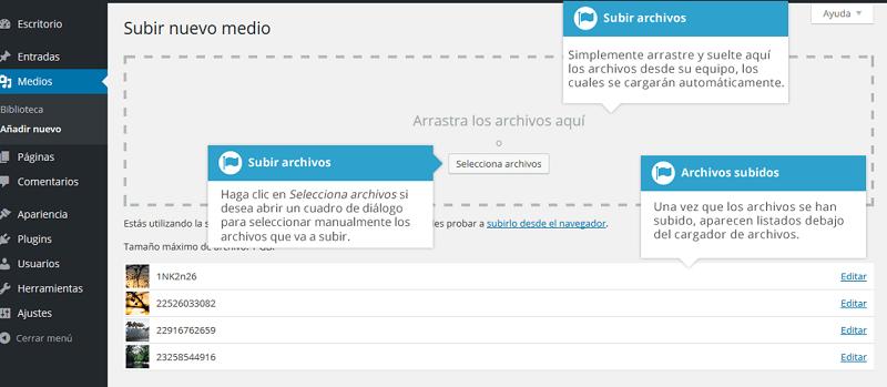 Biblioteca-multimedia-subir-archivos