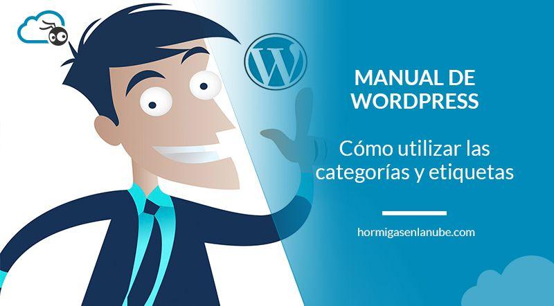 categorías y etiquetas en wordpress