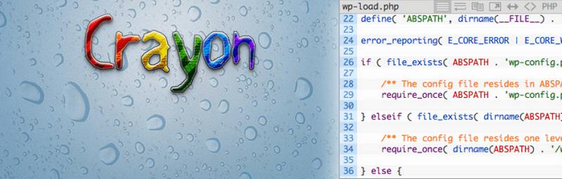 Plugins para wordpress: Crayon Syntax Highlighter