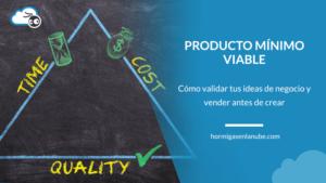 crear un producto mínimo viable