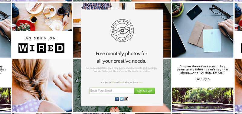 Banco de imágenes gratis Death to the Stock
