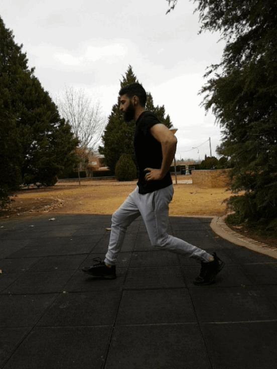 Entrenar en casa: lunges