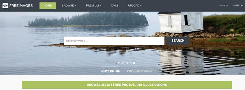 Banco de imágenes gratis FreeImages