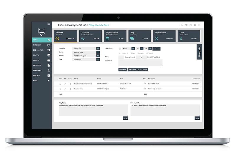 Herramientas de gestión de proyectos: FunctionFox