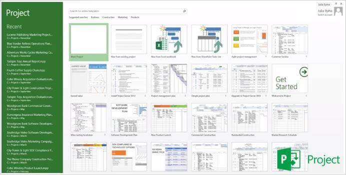 Herramientas de gestión de proyectos: Microsoft Project