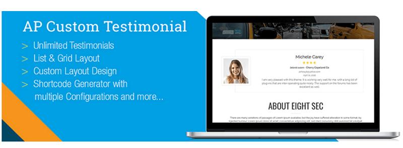 Plugins para WordPress: testimonial wordpress
