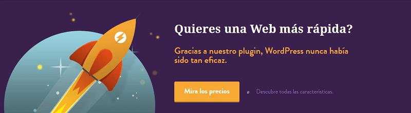 Plugins para wordpress: WP Rocket