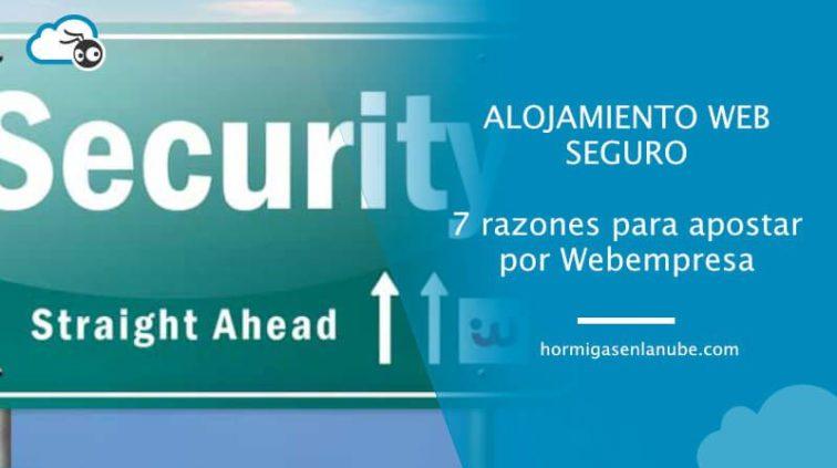 alojamiento web seguro